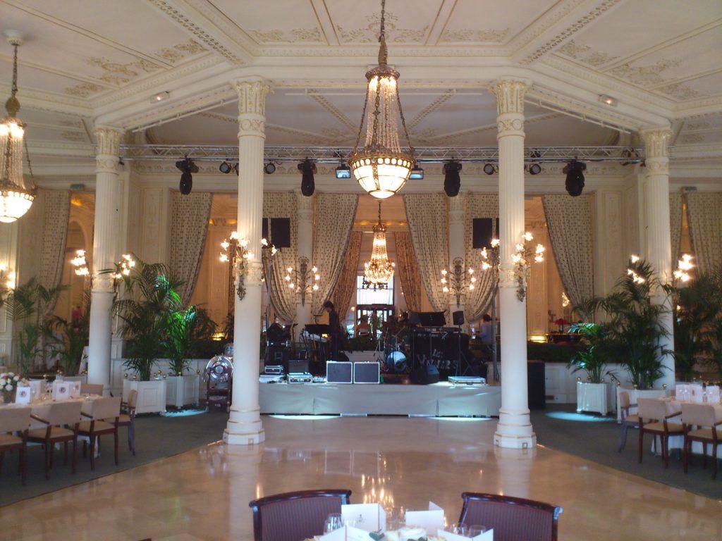 DCI Event hotel du palais Biarritz Sonorisation