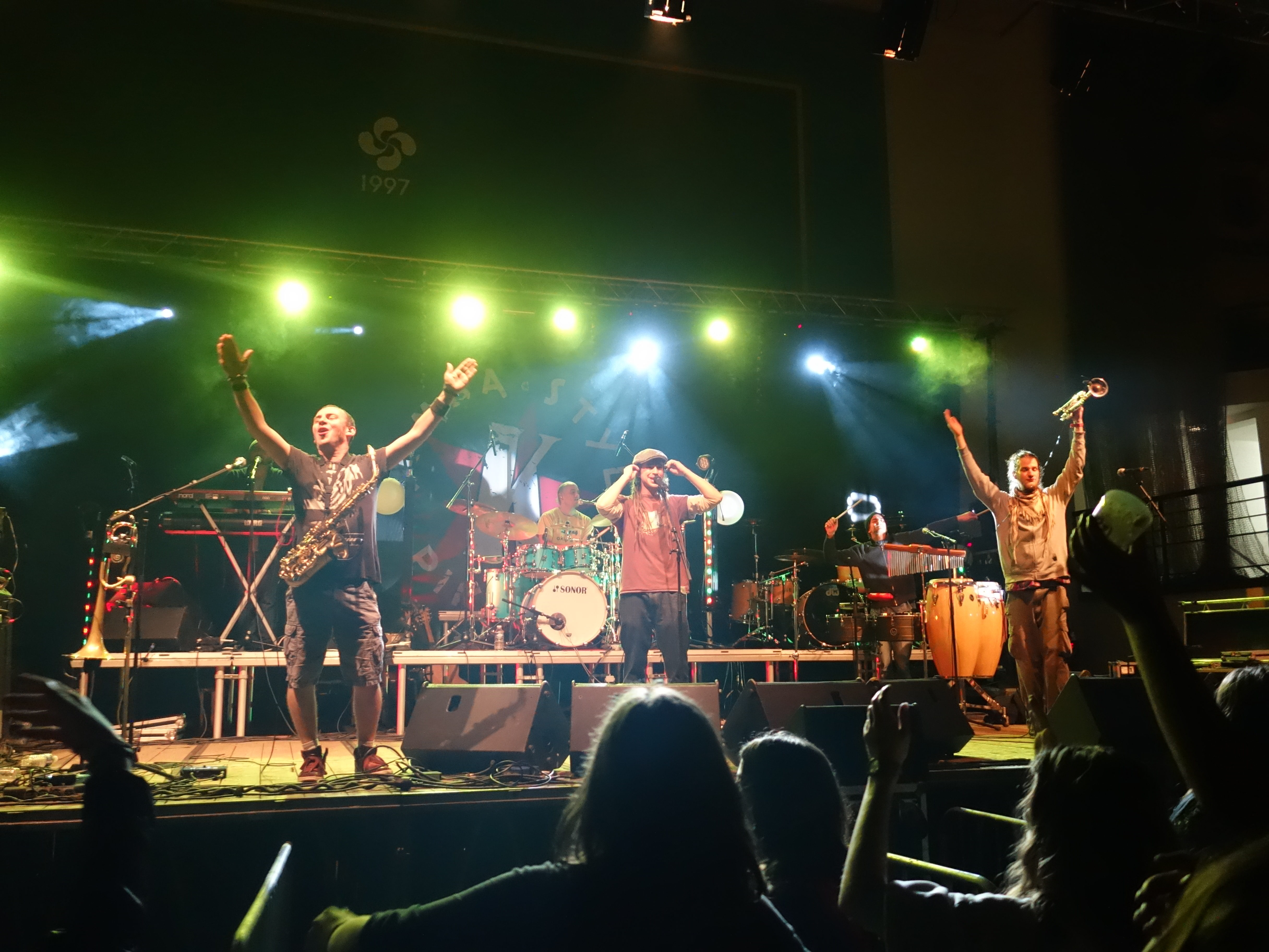 Kimbala aux fêtes de Biriatou 2016