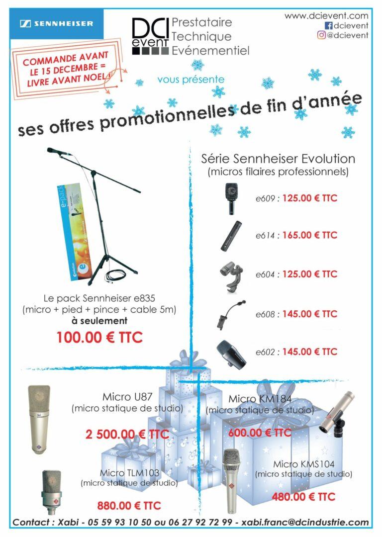promotion de Noël Micros