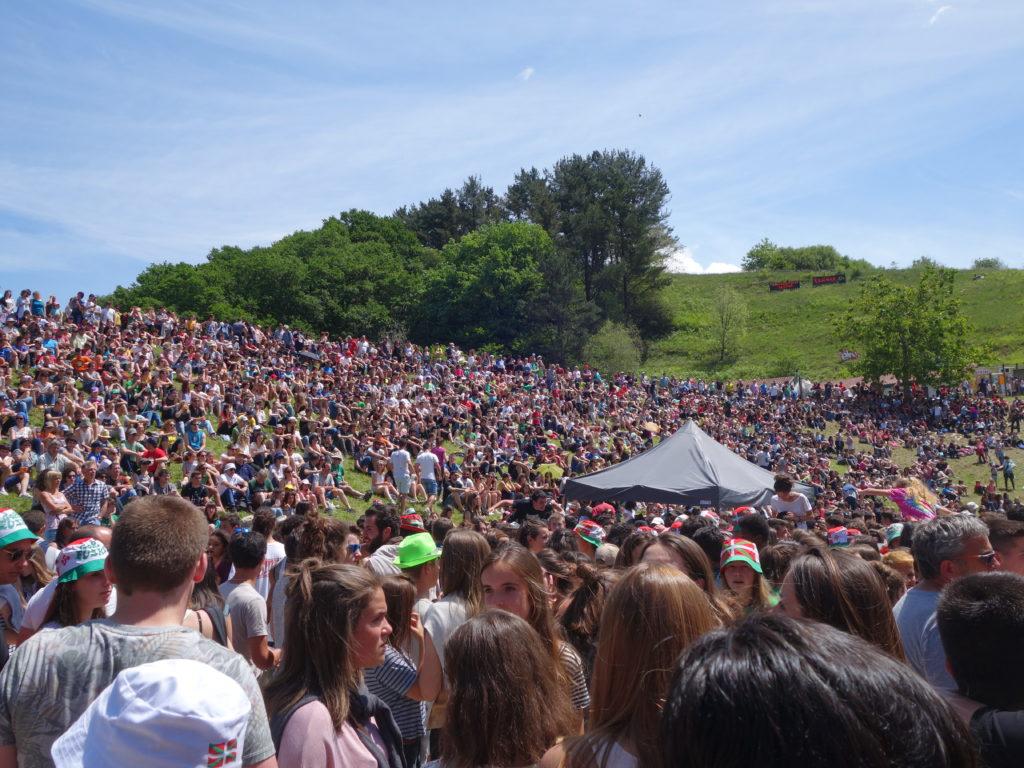 Spectateurs public Nafarroa - Herri Urrats 2017 - DCI event
