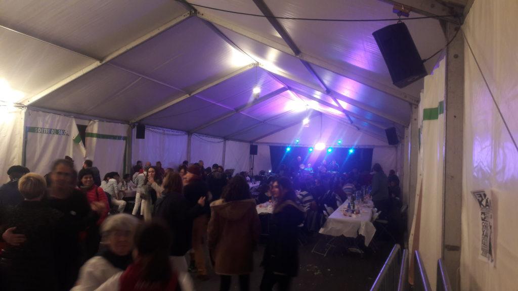 sonorisation chapiteau repas concert
