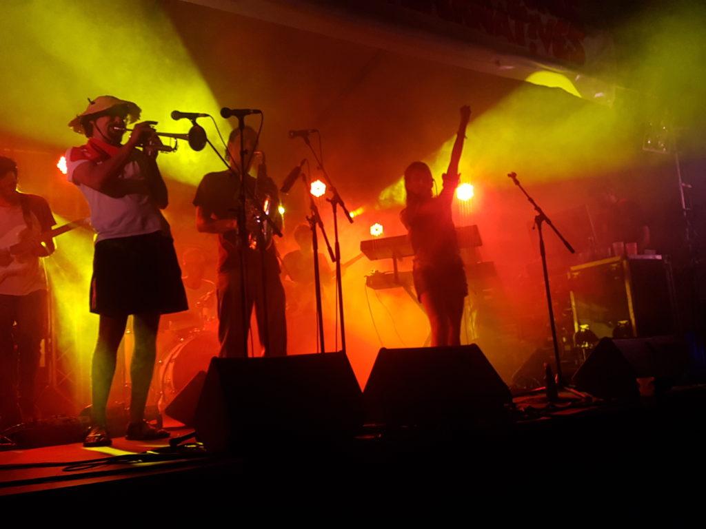 irie jahzz fêtes de bayonne 2018 concert